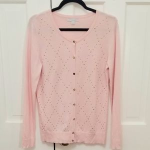 NY & CO Gold Studded Pink Sweater